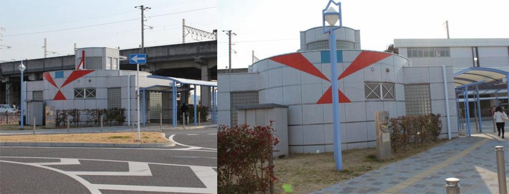 児島駅前公衆トイレ