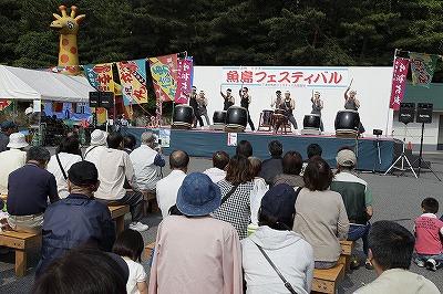 港町下津井・魚島フェスティバルの様子