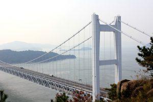 児島下津井、瀬戸大橋のかかるまち